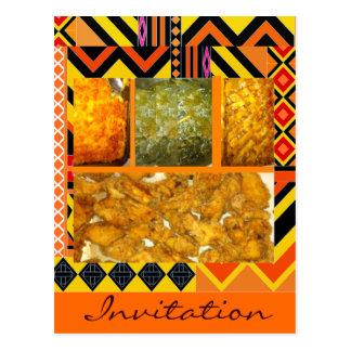 Southern Soul Food, Southern Soul Food,Chicken,... Postcard