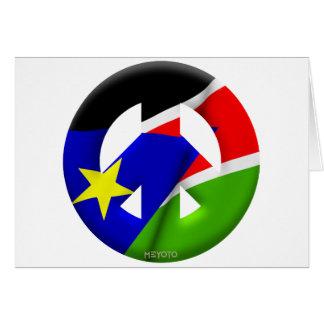 Southern Sudan Card