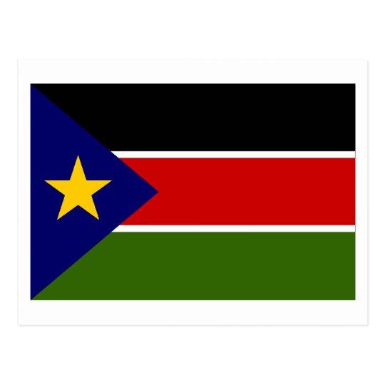 Southern Sudan Flag Postcard
