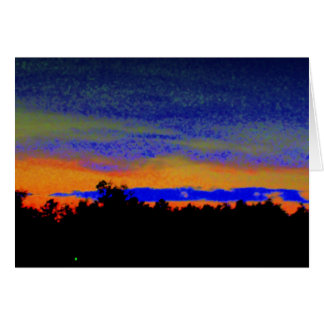 Southern Sunset Card