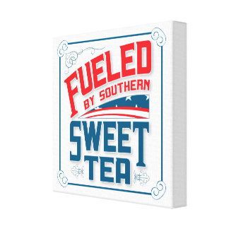 Southern Sweet Tea Canvas Wall Hanging