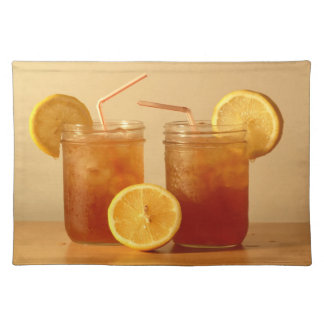 Southern Sweet Tea for Two in Mason Jars Place Mat