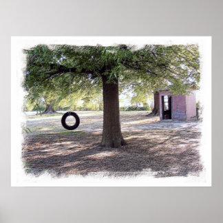 Southern Swing Set Poster