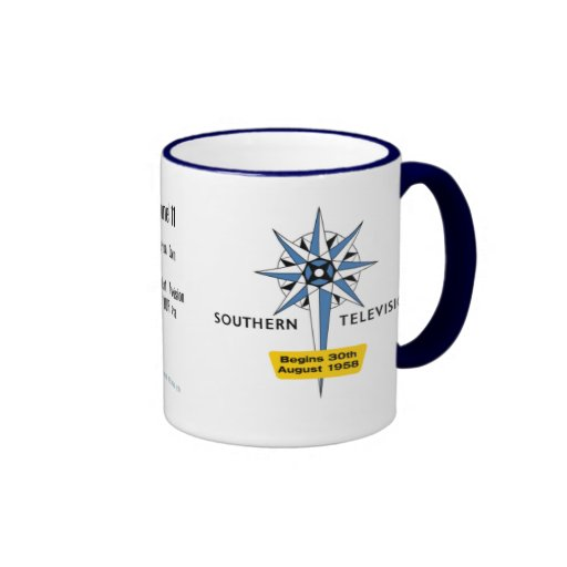 Southern Television Launch Publicity Mug
