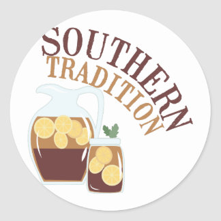 Southern Tradition Classic Round Sticker
