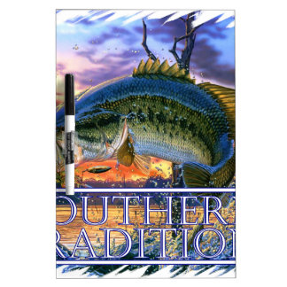 Southern Traditions Bass 1.jpg Dry-Erase Board