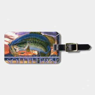 Southern Traditions Bass 1.jpg Luggage Tag