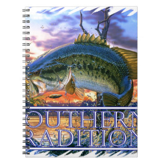 Southern Traditions Bass 1.jpg Spiral Note Book