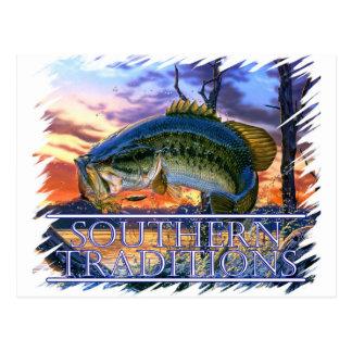 Southern Traditions Bass 1.jpg Postcard