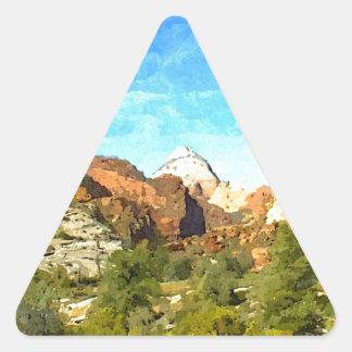 Southern Utah Vista Triangle Sticker