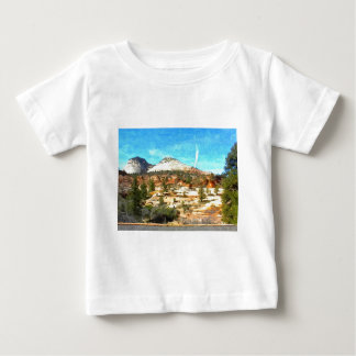 Southern Utah Vista with Red Soil Baby T-Shirt