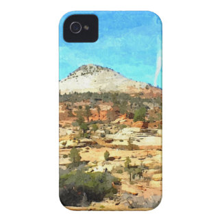 Southern Utah Vista with Red Soil iPhone 4 Case-Mate Case