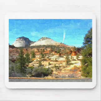 Southern Utah Vista with Red Soil Mouse Pad