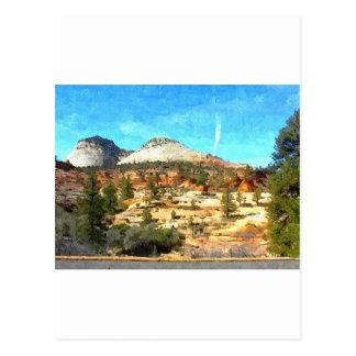 Southern Utah Vista with Red Soil Postcard