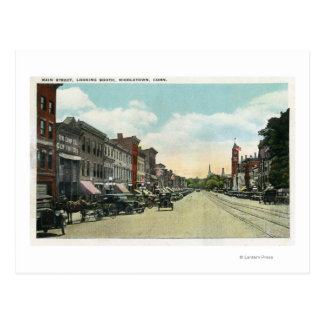 Southern View Down Main Street Post Cards