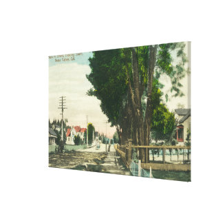 Southern View from Auburn Street Canvas Print