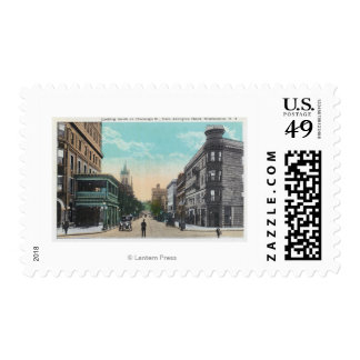 Southern View of Chenango St from Arlington Postage