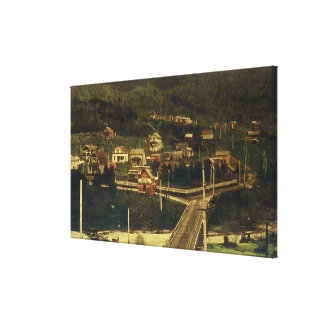 Southern View of Portion of Residence District Canvas Print