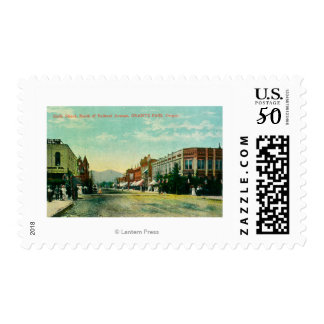 Southern View of Sixth Street from Railroad Postage