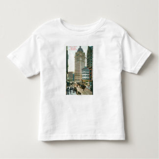 Southern View on Kearny St from Post St Toddler T-shirt