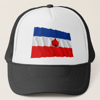 Southern Waving Flag Trucker Hat