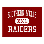 Southern Wells - Raiders - Senior - Poneto Indiana Post Cards