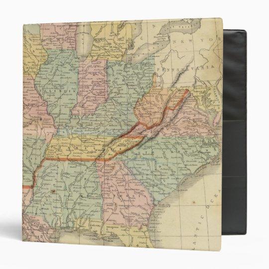 Southern, Western States 3 Ring Binder