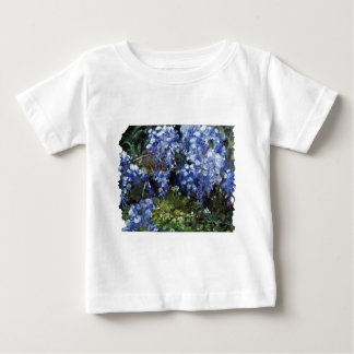 Southern Wisteria Flowers in Louisiana Baby T-Shirt