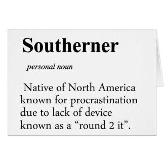 Southerner Cards