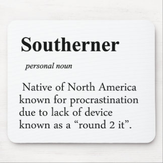 Southerner Mouse Pad