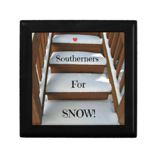 Southerners for Snow! Keepsake Boxes