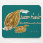 southernflounderspecies mouse mats