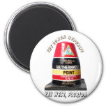 Southernmost Point 2 Inch Round Magnet