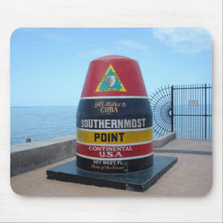 Southernmost Point Buoy Key West Florida Mousepad