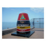 Southernmost Point Buoy Key West Florida Poster