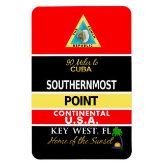Southernmost Point Buoy Key West Magnet
