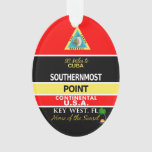 Southernmost Point Buoy Key West Ornament at Zazzle