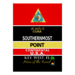 Southernmost Point Buoy Key West Print