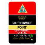 Southernmost Point Buoy Key West Rectangular Photo Magnet