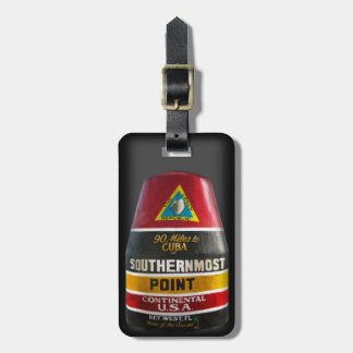 Southernmost Point Key West Luggage Tag