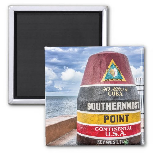 Southernmost Point Key West Magnet