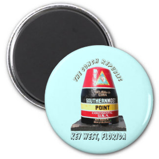 Southernmost Point Refrigerator Magnet