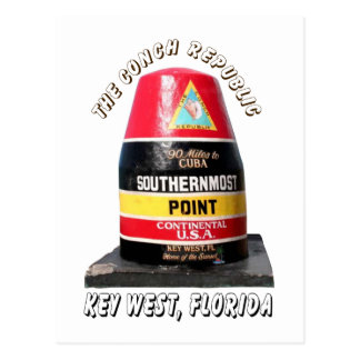 Southernmost Point Postcard