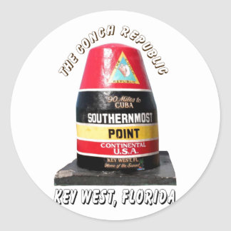 Southernmost Point Stickers
