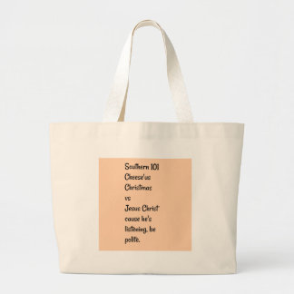 Southernslang Large Tote Bag