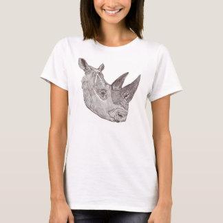 Southewrn White Rhinoceros T T-Shirt
