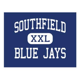 Southfield - arrendajos azules - alto - Southfield Postal