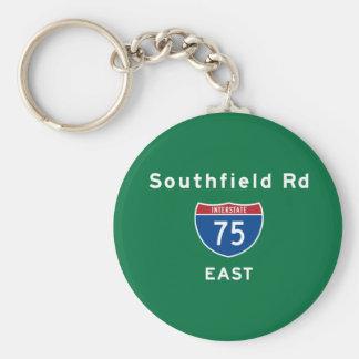 Southfield Rd 75 Llavero Personalizado