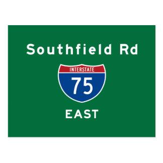 Southfield Rd 75 Postcard