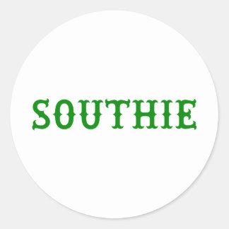 SOUTHIE CLASSIC ROUND STICKER